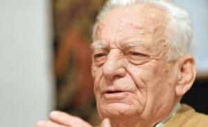 Oleg Dombrovschi, la 90 de ani. FOTO: ANDREI CRĂCIUN