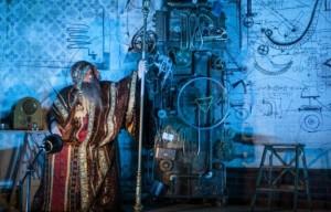 Imagine din spectacolul jucat la Metropolis.FOTO: TEATRUL METROPOLIS