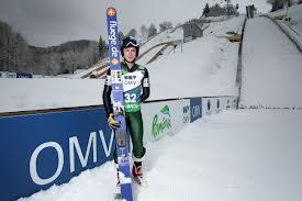 Tânărul Iulian Pîtea, o mare speranță olimpică și un produs concret al investițiilor în săriturile cu schiurile.FOTO: www.newsbv.ro