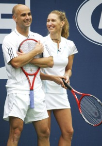 Andre și Steffi. FOTO: michaeljlewis.wordpress.com