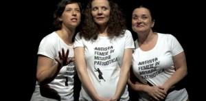 """Cele trei actrițe formidabile din """"Habemus bebe"""". FOTO: ZIARUL METROPOLIS"""