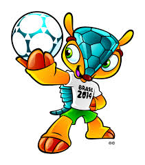 Tatu, mascota Mondialului brazilian. FOTO: massivnews.com