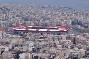 Stadionul din Pireu, pe care joacă Olympiakos acasă. FOTO: www.athens-greece.us