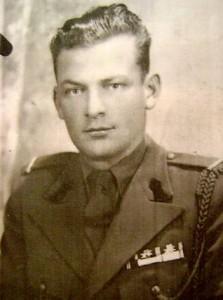 Oleg Dombrovschi, militar. FOTO: ARHIVA PERSONALĂ