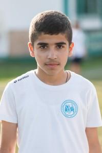 Surik Karamian, fiul lui Arman Karamian, un golgheter înnăscut. Credit foto: Dragoș Toader